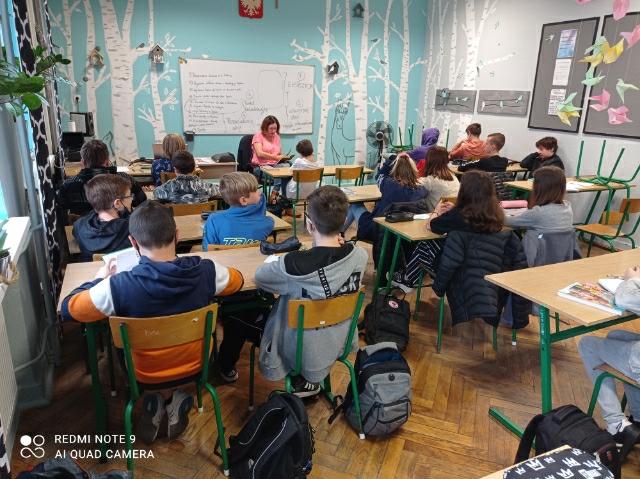 Ogólnopolski Dzień Głośnego Czytania w Szkole Podstawowej nr 2 w Czeladzi.
